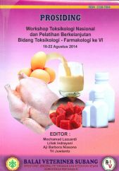 PROSIDING Workshop Toksikologi Nasional dan Peatihan Berkelanjutan bidang Toksikologi - Farmakologi